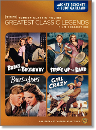 Mickey Rooney Judy Garland Gratest Classic Legends DVD Set