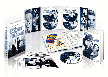 Mickey Rooney Judy Garland Deluxe DVD Boxed Set