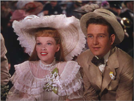 "Judy Garland and Tom Drake in ""Meet Me In St. Louis"""