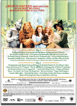 The Wizard of Oz 2-disc DVD
