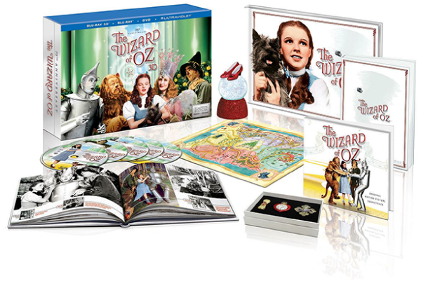 Wizard of Oz 75th Anniversary Blu-ray/DVD Boxes Set - Costco Edition