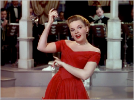 "Judy Garland in ""In The Good Old Summertime"""