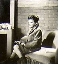 Judy Garland on the Valley of the Dolls Set