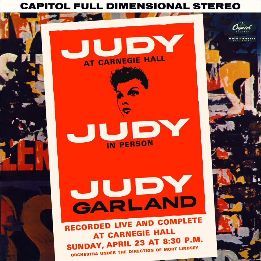 Judy Garland Discography Judy At Carnegie Hall