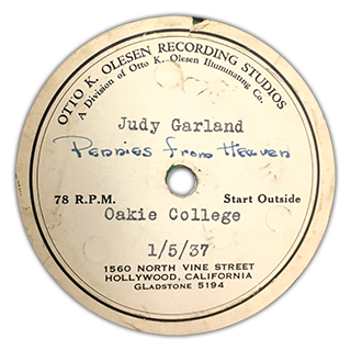"""Pennies From Heaven"" - Judy Garland"