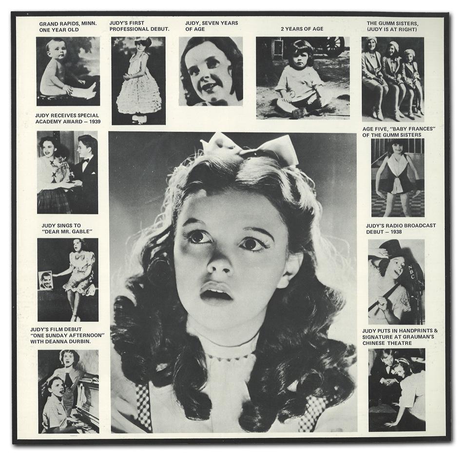 Judy Garland Discography: Judy Garland Concert