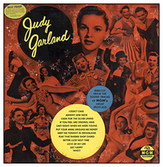 """If You Feel Like Singing"" Judy Garland at MGM Compilation LP"