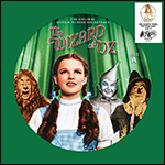 The Wizard of Oz orignal soundtrack - 80th anniversary vinyl picture disc