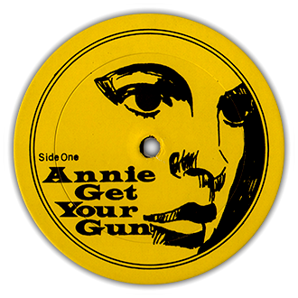 Annie Get Your Gun Label