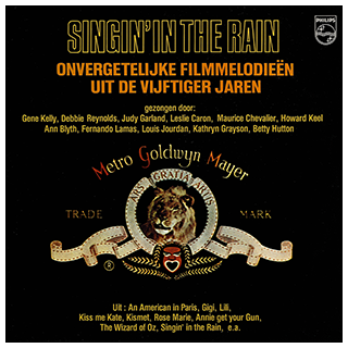 Singin' In The Rain - Dutch LP