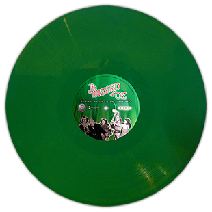 "The Wizard of Oz ""Record Store Day"" Green Vinyl LP Special Edition"