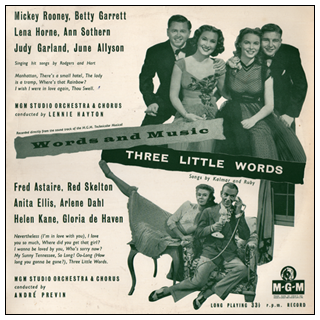 Words And Music/Three Little Words