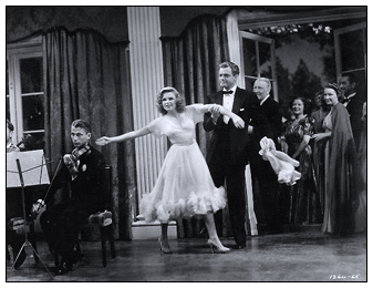 "Judy Garland and Van Heflin in ""Presenting Lily Mars"""
