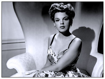 Judy Garland portrait at MGM