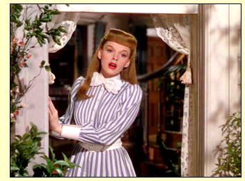 "Judy Garland sings ""The Trolley Song"""