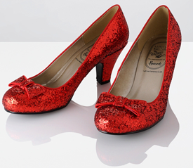 Ruby Red Shoes Wizard Of Oz