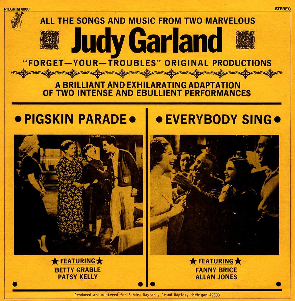 """Pigskin Parade"" & ""Everybody Sing"" on LP"