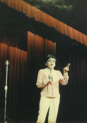 Judy Garland at the Arie Crown Theater