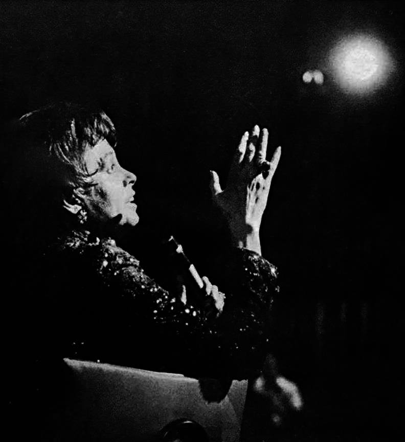 Judy Garland at the Chicago Civic Opera 1967