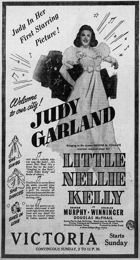 Little Nellie Kelly starring Judy Garland