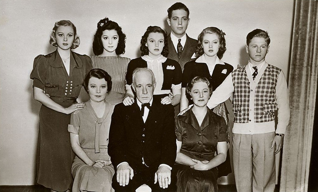 "The cast of ""Love Finds Andy Hardy"""