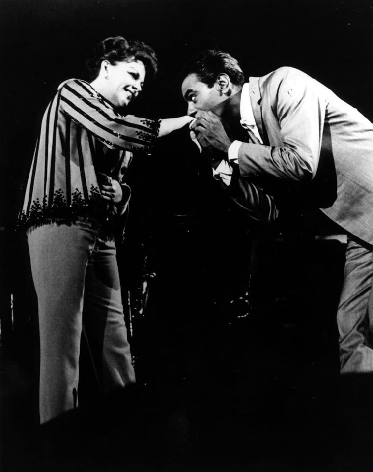 Judy Garland and Johnny Mathis