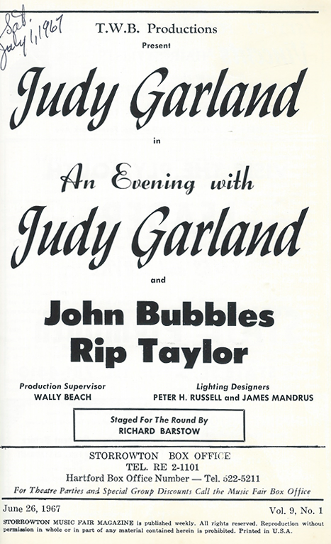 Judy Garland at Sorrowtown