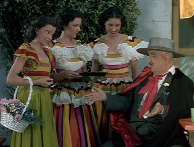 """The Garland Sisters in """"La Fiesta Santa Barbara"""""""