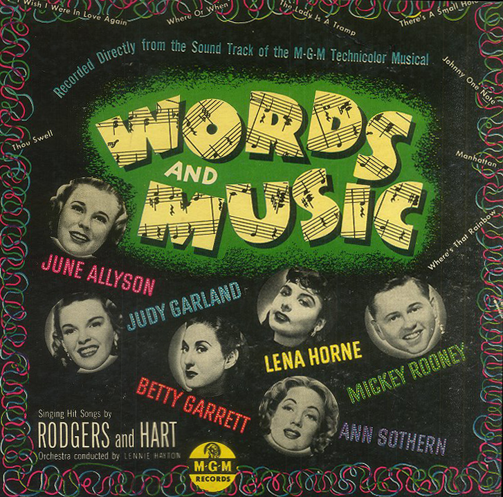 Words and Music 78 album