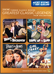 Mickey Rooney/Judy Garland Musicals Collection on DVD