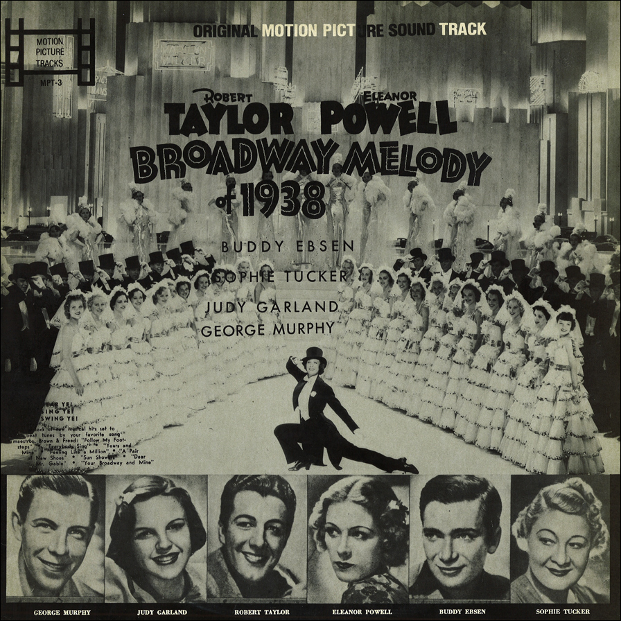 """Broadway Melody of 1938"" bootleg LP"