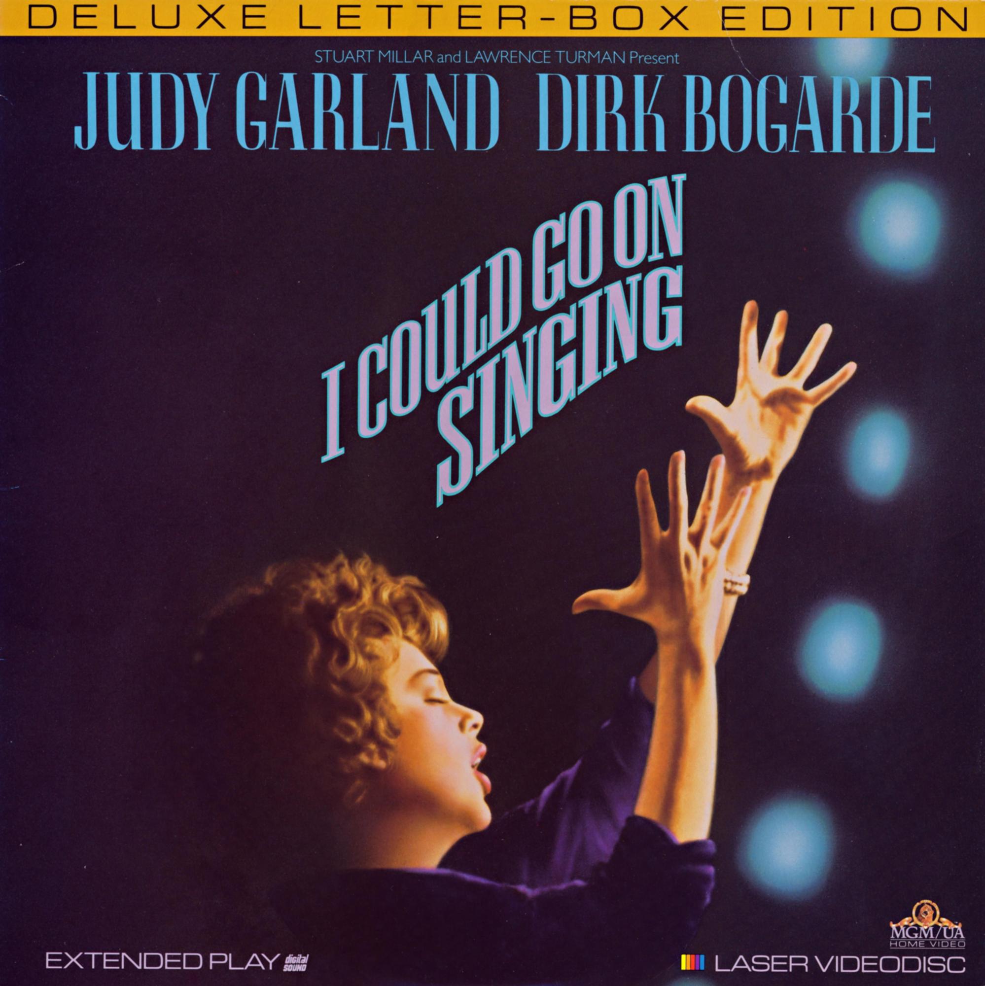 I Could Go On Singing 1989 laserdisc
