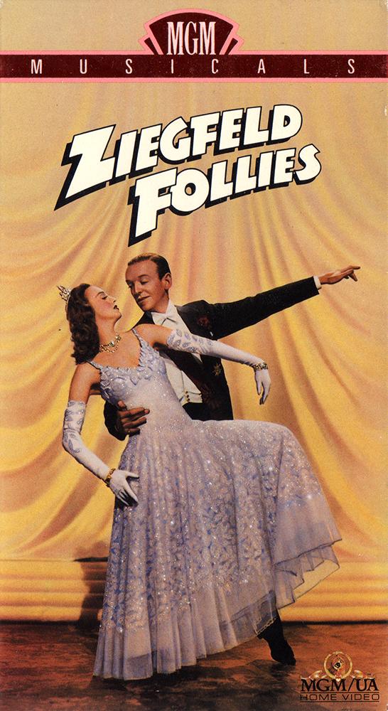 Ziegfeld Follies 1990 VHS front