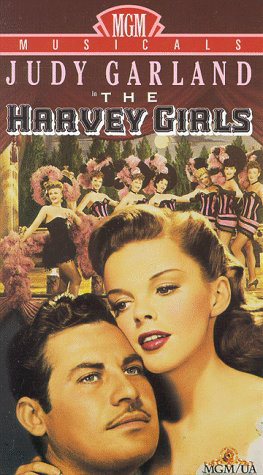 1990s VHS of The Harvey Girls