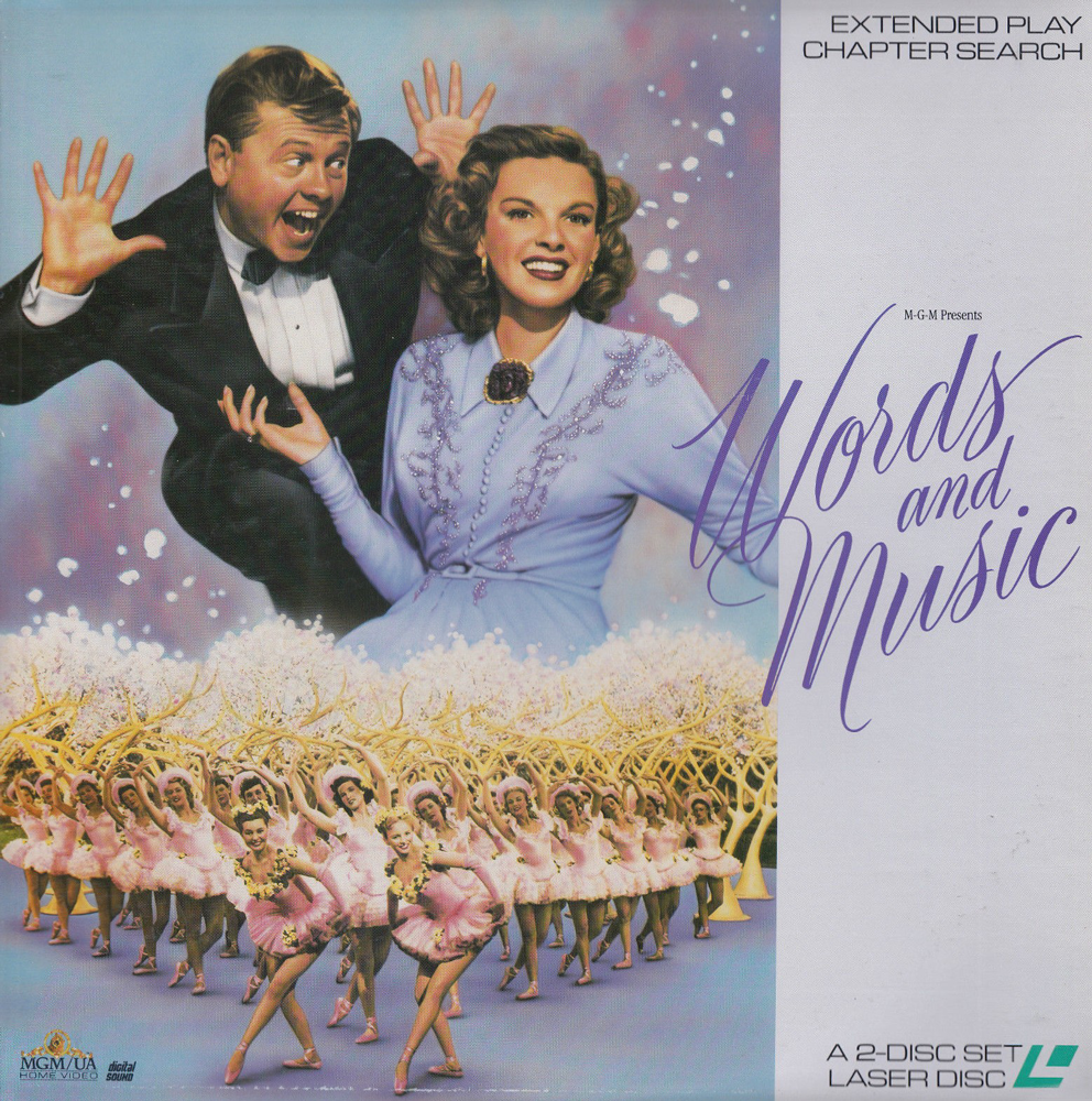 Words And Music laserdisc