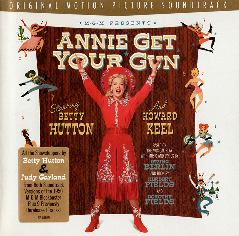 """Annie Get Your Gun"" Rhino CD Soundtrack"