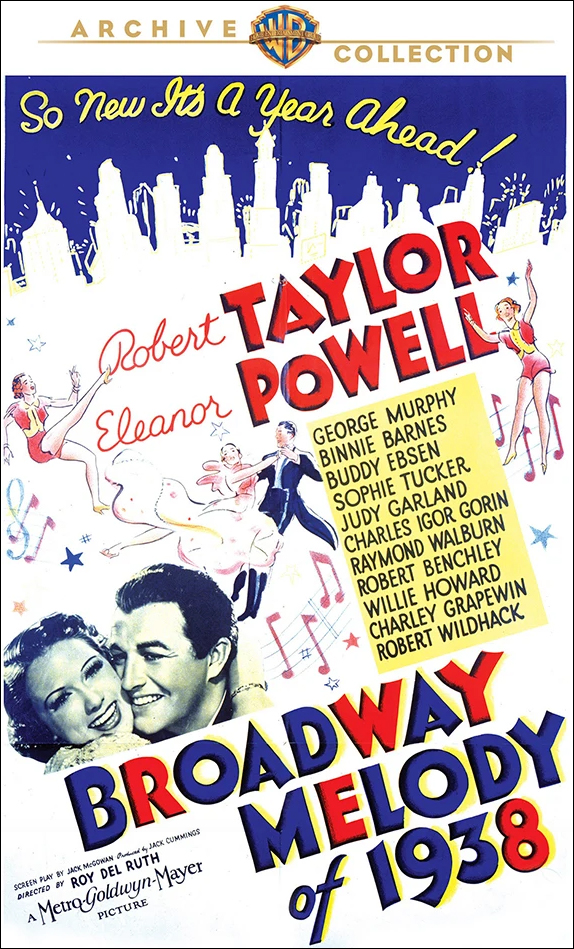 """Broadway Melody of 1938"" Warner Archive DVD"