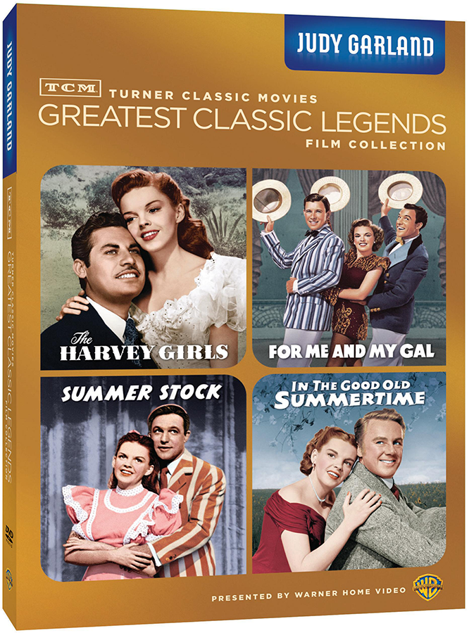 Greatest Classic Legends Judy Garland DVD set