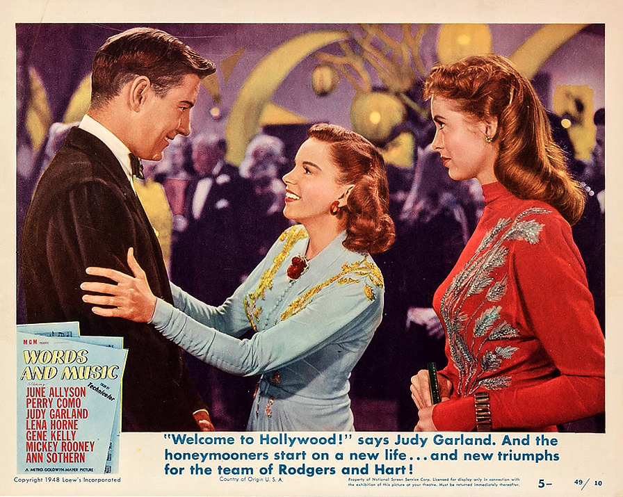 Words And Music Lobby Card