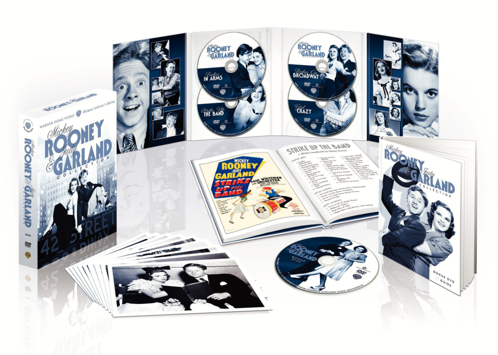 The Mickey Rooney Judy Garland DVD boxed set