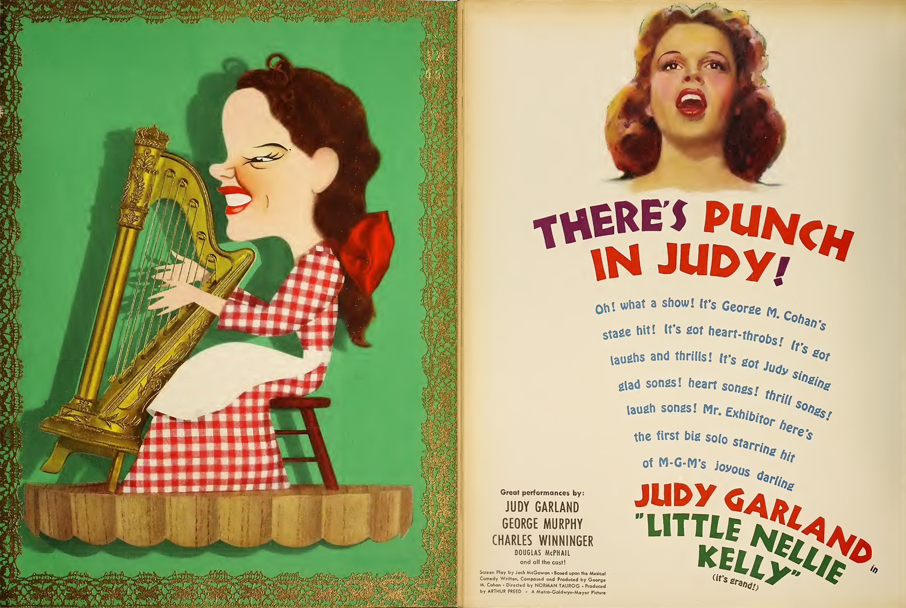 "Judy Garland in ""Little Nellie Kelly"""
