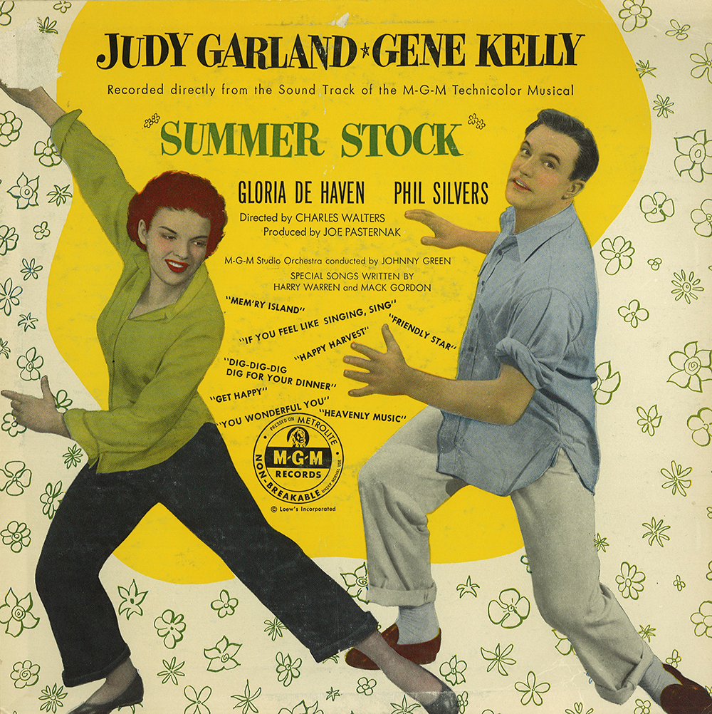 "Summer Stock 10"" long playing soundtrack"