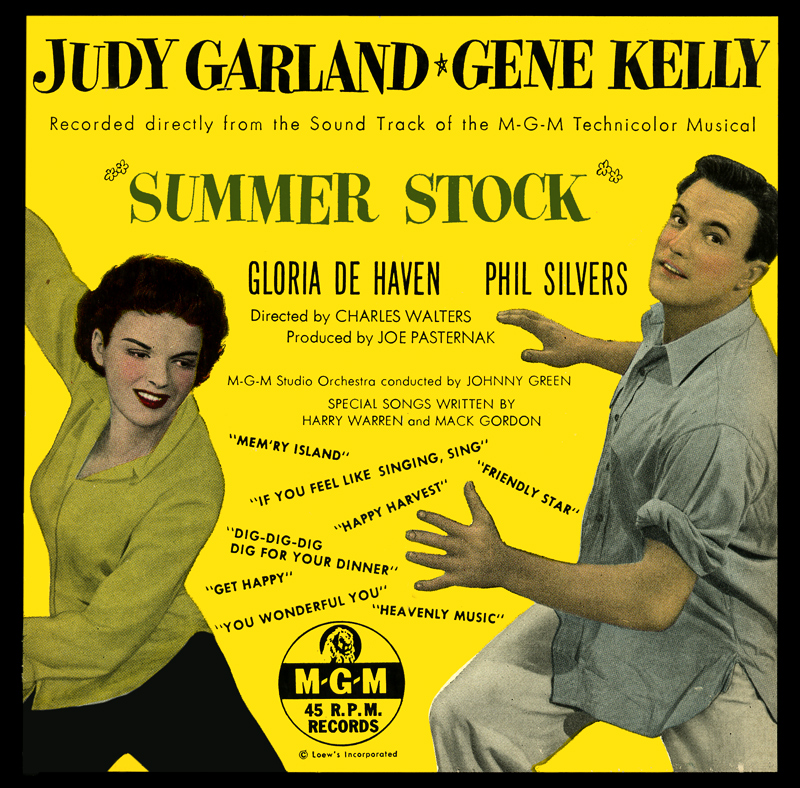 Summer Stock 45 rpm set