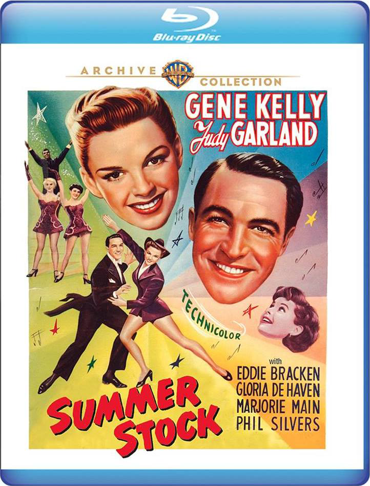 Summer Stock on Blu-ray