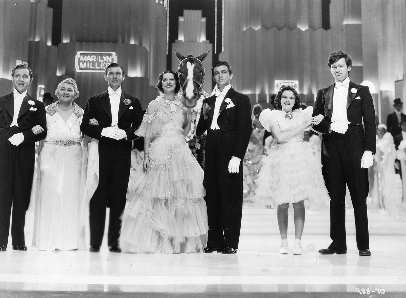 "The cast of ""Broadway Melody of 1938"""
