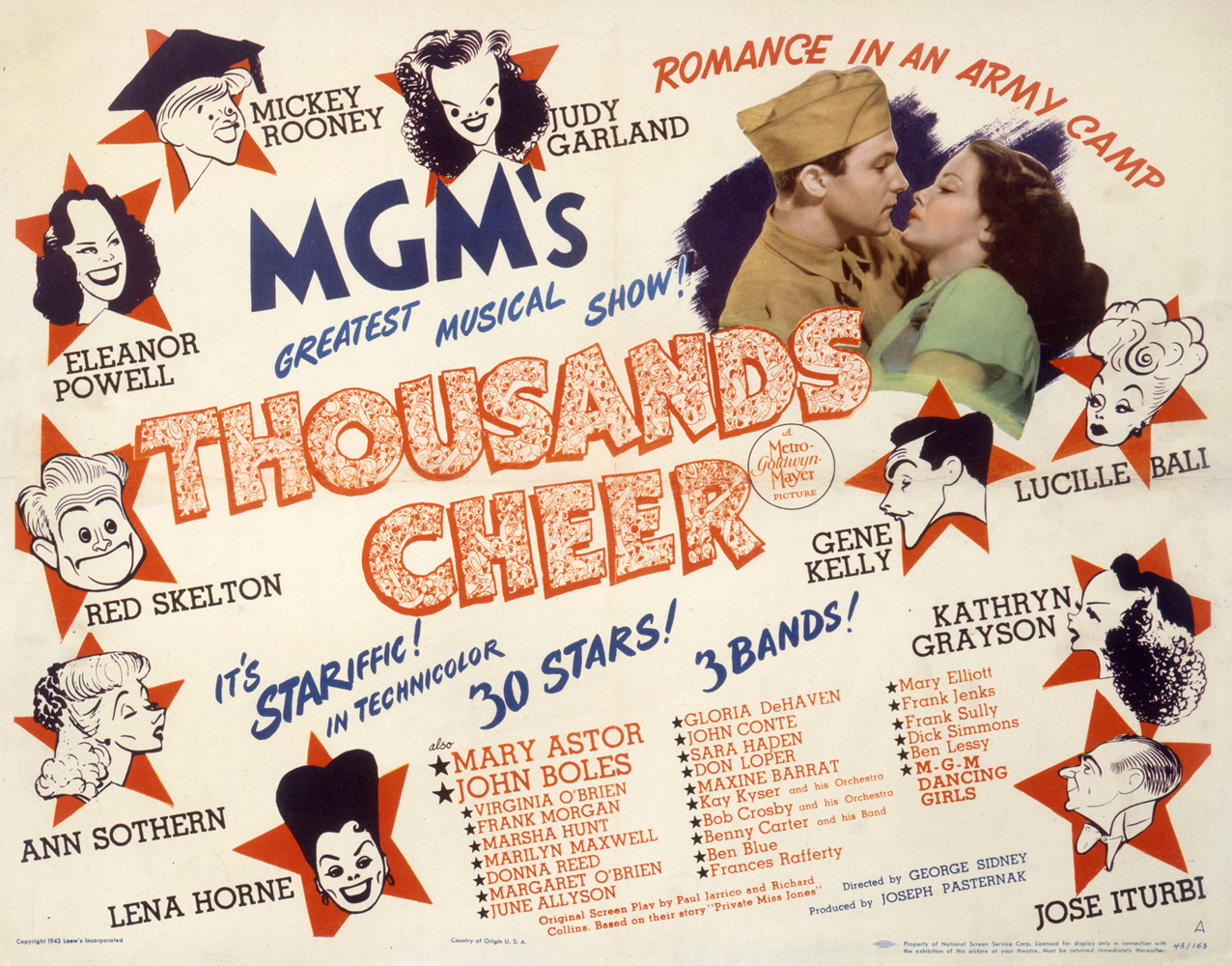 Thousands Cheer Lobby Card