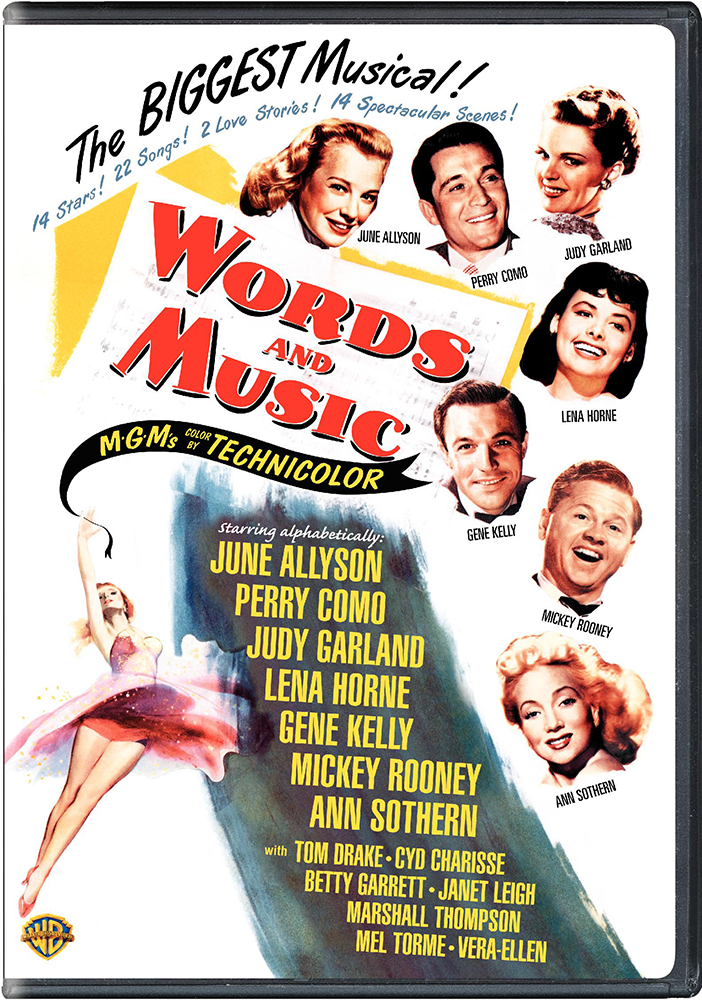 Words And Music DVD front