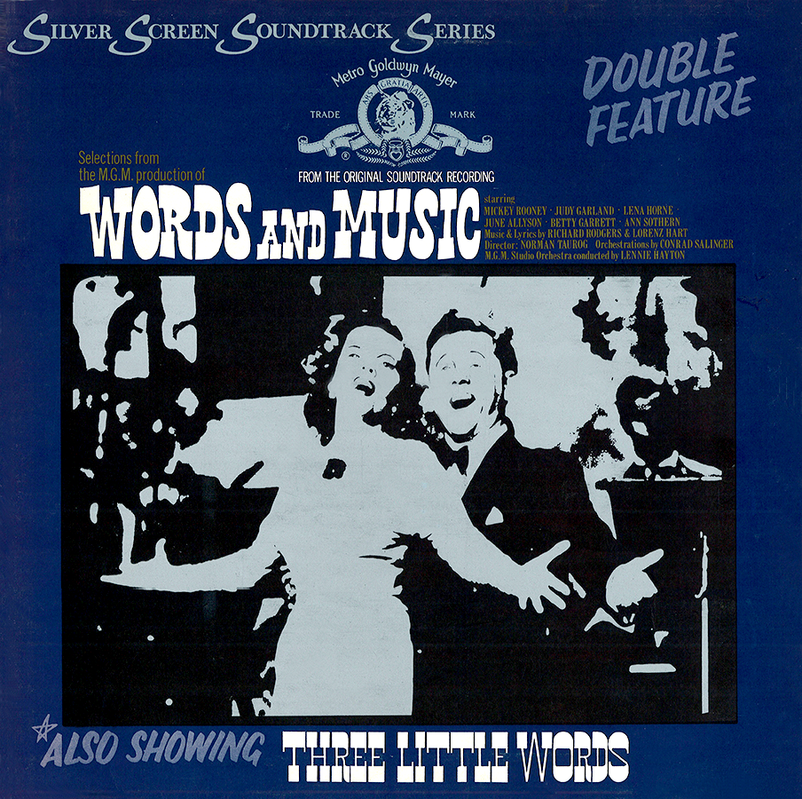 Words And Music/Three Little Words Silver Screen Soundtrack Series LP