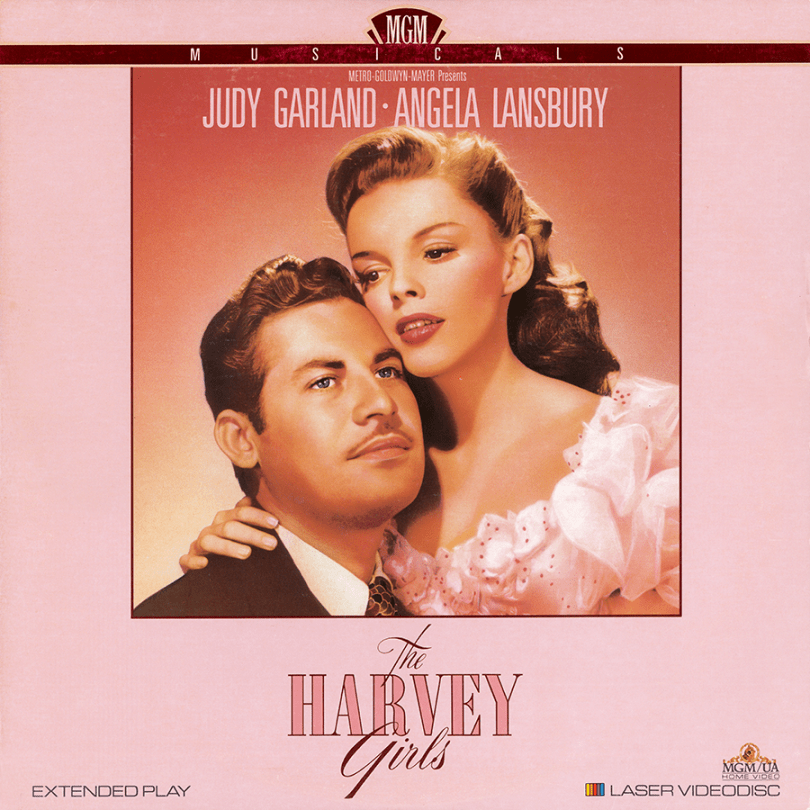 The Harvey girls laserdisc