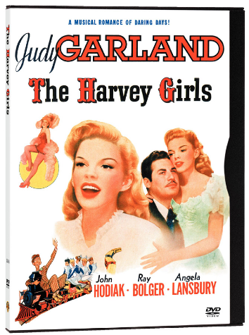 The Harvey Girls on DVD